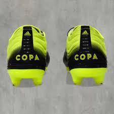 <b>Бутсы Adidas COPA 19.1</b> FG (черный/желтый) купить в Москве ...