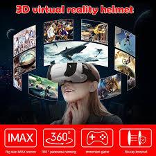 3D <b>VR</b> glasses box <b>virtual reality</b> helmet immersive headset ...