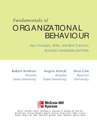 kreitner preface organizational behavior learning