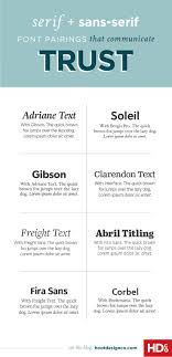 best ideas about resume fonts graphic designer 8 fresh font pairings that will make your audience trust you immediately