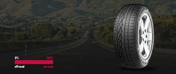 <b>General Tire</b> on-road SUV tyre