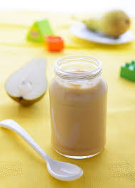 Homemade <b>Baby Food</b> Recipes: <b>Pear</b> Puree - The Picky Eater