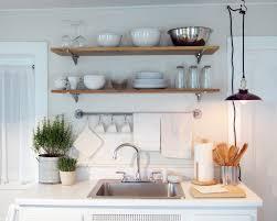medium size kitchen wall shelf