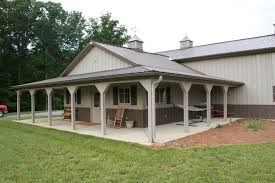 One of a Kind Metal Building Farm w  Porch  amp  Kitch Area   HQ    A reflection of simplicity   a sophisticated touch of serene beauty