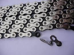 <b>KMC X11</b>.<b>93</b> Silver Black <b>MTB</b> Mountain Road Bike 11 Speed ...