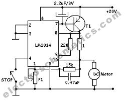 dc motor speed controller circuit dc motor speed controller schematic