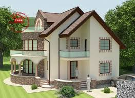 Round balcony house plans   an expressive designRound balcony house plans for all