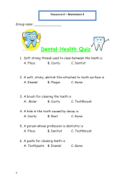 printable worksheets for personal hygiene personal hygiene printable worksheets for personal hygiene personal hygiene worksheet 4 dental health quiz 212x300 personal