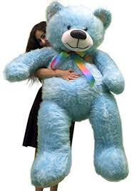5 Foot <b>American</b> Made Sky Blue Color Giant Teddy Bear <b>62 inches</b> ...
