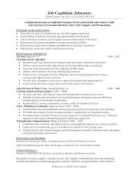 resume samples for customer service resume format  customer