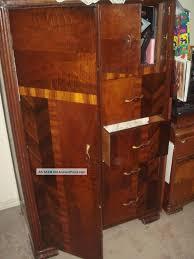vintage 1930 art deco bedroom waterfall furniture armoire closet art art deco bedroom furniture art deco antique