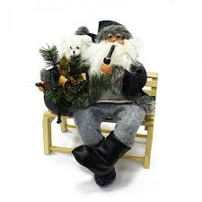 <b>Maxitoys</b> Фигура <b>Дед</b> Мороз на Скамье 45 см - купить в интернет ...