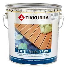<b>Масло VALTTI PUUOLJY</b> AKVA <b>EC</b>, цена   Tikkurila купить в СПб