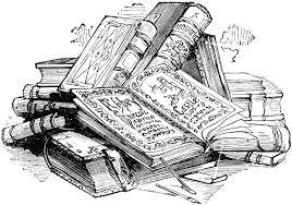 Resultado de imagen de libros dibujo