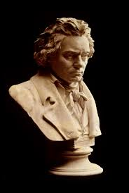 ludwig van beethoven a bust by hugo hagen based upon beethoven s life mask