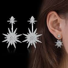 Shop <b>Fashion Full Diamond</b> Size Before And After The Star Stud ...