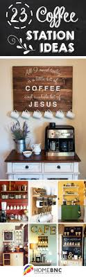 23 coffee station ideas for your morning buzz attractive coffee bar home 4