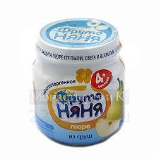 Купить <b>Пюре</b> ФрутоНяня <b>груша</b> по низкой цене в интернет ...