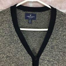Кофты American Eagle Outfitters серый кардиган для мужчин ...