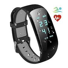 KARSEEN H2 <b>Waterproof</b> with Heart Rate Monitor,<b>Smart</b> Fitness ...