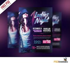 ladies night flyer psd template psd bies com ladies night flyer psd template