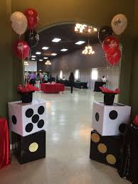 <b>Casino themed Birthday Party</b> Ideas | Photo 1 of 11 | <b>Casino party</b> in ...