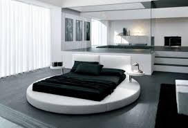 black white bedroom ideas innovative design with white round bed and black mattress with black wooden bedroom awesome black white