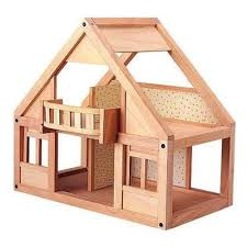 Wooden Doll House   Plan Toys   My First Dollhouse   ClassicWooden Doll House  My First Dollhouse  Plan Toys
