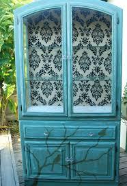 ideas china hutch decor pinterest: decoupagefurnitureideas decorating ideas painted furniture painted china cabinet