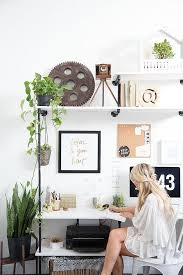 view in gallery add some greenery to your home office from amber thrane of dulcet creative add home office