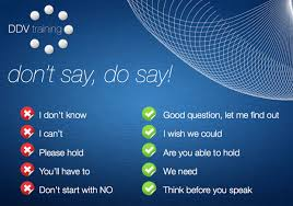 customer service responses best worst phrases to use don t say do say