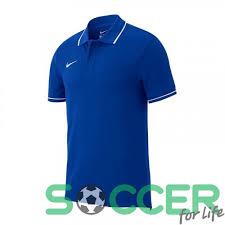 Футболка-<b>поло Nike</b> Team Club 19 Polo Lifestyle AJ1546-463 ...