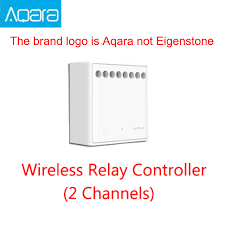 Original Mijia <b>Aqara Two way</b> control <b>module</b> Wireless Relay ...