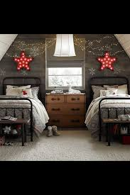 Soffitto In Legno Grigio : Attic bedroom would be cute kids room for the home