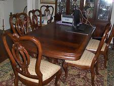 size thomasville dining tables thomasville dining room settable  chairs  leaves amp hutch thomasville