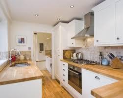 kitchen worktops ideas worktop full: photo of white with sunken sink tiled splashback wooden worktop