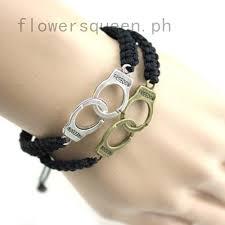 Freedom Handcuff Bracelet Couples & Friends Bracelet Goth Punk ...