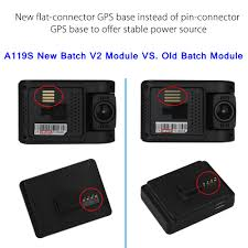 VIOFO A119S Latest <b>V2</b> Version w/GPS Car <b>Dash</b> Camera ...