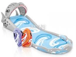 Купить <b>Intex Горка надувная</b> Акула 460x168x157cm 57159 по ...