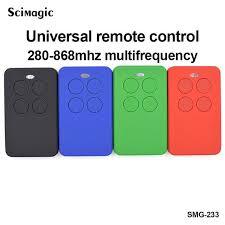 <b>3X Universal gate and</b> garage door remote control for BENINCA ...