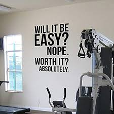 Absolutely <b>Fitness Motivation Wall Quotes Poster</b> Large <b>Gym</b> ...
