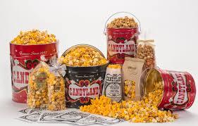 Candyland: World-Famous Popcorn & Popcorn <b>Tins</b>