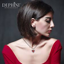 Dephini Heart Necklace - <b>High</b>-<b>Quality</b> Luxury Fine Jewellery