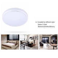 Led Kitchen Light Fixture Minimalist Led Kitchen Light Fixture On Led Flush Mount Ceiling
