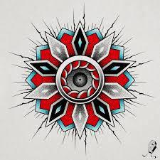 dedleg weirdo cosmic circuit mandala i whipped up today i d love to tattoo this