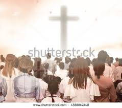 Image result for pictures of people around the cross