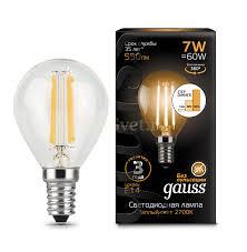 <b>Лампочки</b> LED <b>Gauss</b> – купить по низкой цене в интернет ...
