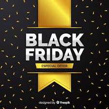 <b>Elegant black</b> friday composition with <b>golden style</b> Vector | Free ...