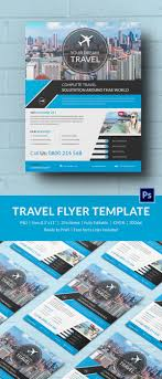 travel flyer psd ai vector eps format 43 travel flyer templates