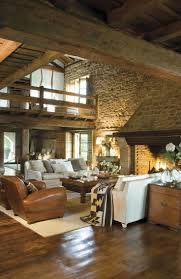 Lodge Living Room Decor 17 Best Images About Rustic Interiors On Pinterest Ralph